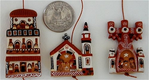 Peruvian Christmas Ornaments